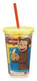 Curious George 12 oz Acrylic Travel Cup Tumbler