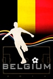 Brazil 2014 - Belgium Posters