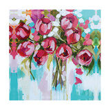 Tulip Splendour Giclee Print by Amanda J. Brooks