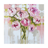 Plush Peony Giclee Print by Amanda J. Brooks