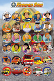 Fireman Sam - Characters Posters