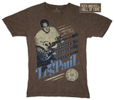 Les Paul - Rock and Roll Hall of Fame T-Shirt
