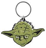 Star Wars - Yoda Rubber Keychain Keychain
