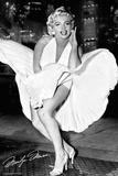 Marilyn Monroe - New York Dress Kunstdrucke