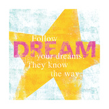 Letterpress Dream Giclee Print by Sue Schlabach