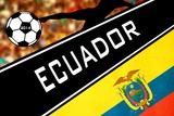 Brazil 2014 - Ecuador Posters
