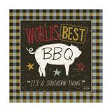 Southern Pride Best BBQ Reproduction procédé giclée par Michael Mullan