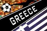 Brazil 2014 - Greece Posters
