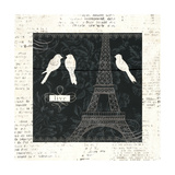Love Paris I Poster by Emily Adams