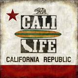 Cali Life Prints by Luke Wilson