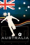 Brazil 2014 - Australia Poster