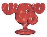 National Lampoon's Christmas Vacation Griswold Red Glass Moose Mug Mug