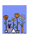 Standing Vases 7 Giclee Print by Soraya Chemaly
