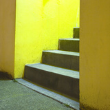 Yellow Stairway Photographic Print by Paul Edmondson