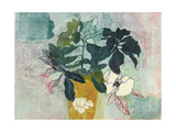 July Magnolia 1 Giclee Print by April Richardson