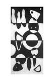 Grande E Moderno 1 Premium Giclee Print by Susan Gillette