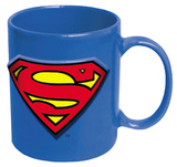 Superman Embossed Logo 20 oz. Ceramic Mug Mug