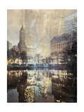 A Night in New York Giclee Print