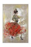 Flamenco II Giclée-tryk af Marta Wiley