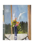 Still Life in Window, Banff Giclee Print by Stephen Dinsmore