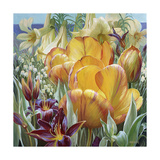Palisade Garden Giclee Print by Elizabeth Horning