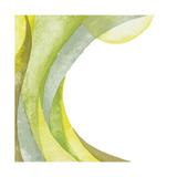 Lime Geometric I ジクレープリント : クリス・パシュケ