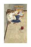 Toy's Room Giclee Print by Alicia Grau