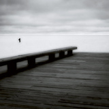 Wooden Pier Photographic Print by Jamie Cook