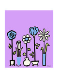 Standing Vases 8 Giclee Print by Soraya Chemaly