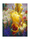A Summer Gathering Giclee Print by Elizabeth Horning