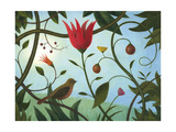 Secret Garden Giclee Print by Fred Lisaius