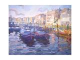 Mercato Pesce di Venezia Poster by John Asaro
