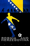 Brazil 2014 - Bosnia and Herzegovina Poster