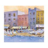 Capri Harbor II Giclee Print by Barbara Barbara