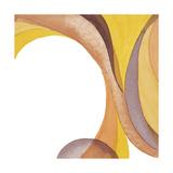 Brown Geometric II Prints by Chris Paschke