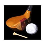 Vintage Golf Giclée-tryk af Ray Pelley