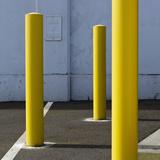 Yellow Poles Photographic Print by Paul Edmondson