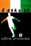 Brazil 2014 - Cote d'Ivoire Plakater