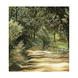 Down the Path Giclee Print by Jill Tishman