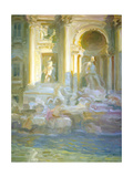 Three Coins in the Fountain Giclee Print by John Asaro