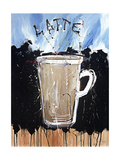 Latte Print by Marta Wiley