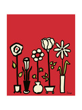Standing Vases 10 Giclee Print by Soraya Chemaly