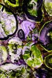 Amethyst and Peridot B Photographic Print