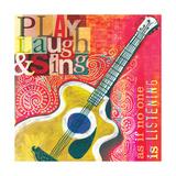 Play Laugh Sing Gicléedruk van Cory Steffen