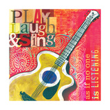 Play Laugh Sing Giclee Print by Cory Steffen