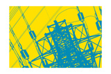 Wired Giclee Print