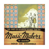 Music Makers Giclee Print by Katrina Whitney