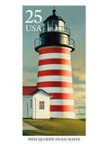 West Quoddy Head Prints by  USPS