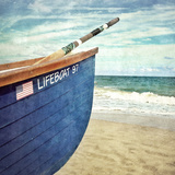 Lifegaurd Boat Photographic Print by Mimi Payne