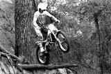 Motocross Racing Jump Poster Photo